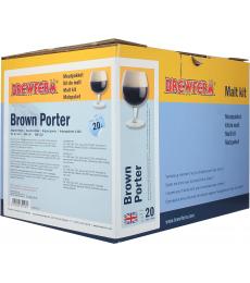 Kit de malt tout grain Brewferm Brown Porter