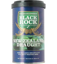 Kit à bière Black Rock NZ Draught