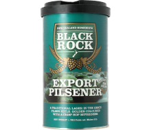 Kit à bière Black Rock Export Pilsner