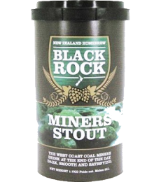 Kit à bière Black Rock Miner's Stout