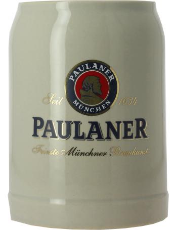 Paulaner chope en gr s 50 cl - Chope de biere 1l ...