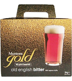 Kit à bière Muntons Gold Old English Bitter