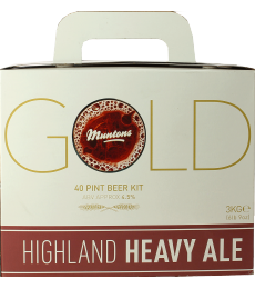 Kit à bière Muntons Gold Highland Heavy Ale
