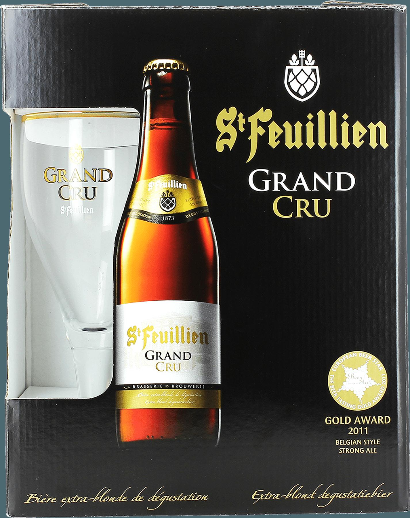 Pack de regalo St Feuillien Grand Cru