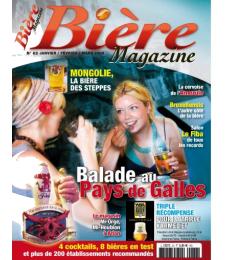 Bière Magazine 62 - Jan. Fév. et Mars 09