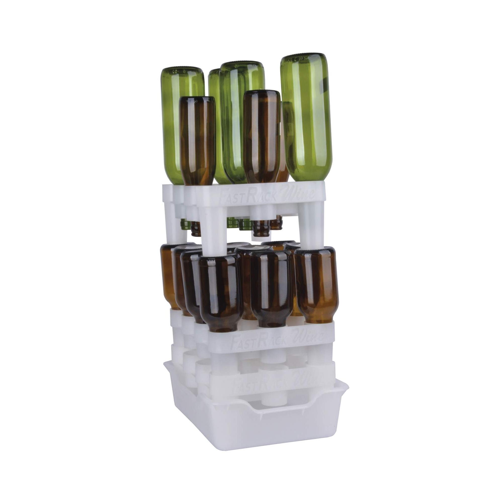 egouttoir fast rack 12 bouteilles s cher vos bouteilles vides. Black Bedroom Furniture Sets. Home Design Ideas