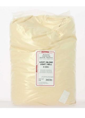 Extrait de malt poudre blond 25 kg 8 EBC