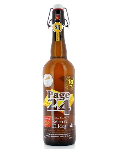 Page 24 Hildegarde Blonde - 75 cl