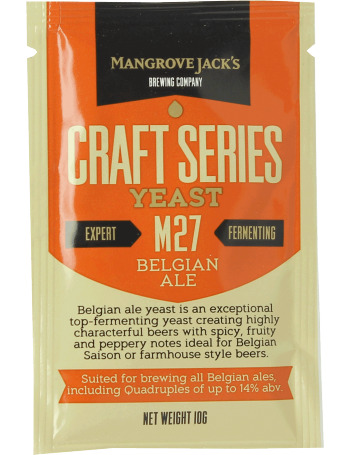 Levure Mangrove Jack's Belgian Ale M27 10g