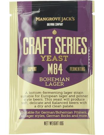 Levure Mangrove Jack's Bohemian Lager M84 10g