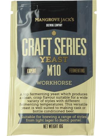 Levure Mangrove Jack's Workhorse Beer M10 10g
