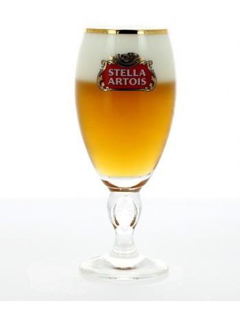 Verre Stella Artois à pied - 25 cl                                                Verre Stella Artois à pied - 25 cl