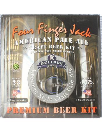 Kit à bière Bulldog Four Finger Jack APA