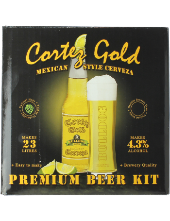 Cortez Gold Mexican Cerveza Beer Kit - Bulldog