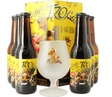 Cuvée des Trolls Gift Pack ( 6 25cl Beers and 1 Beer Glass )