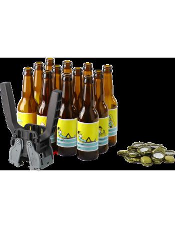 Beer bottling starter kit for homebrewers