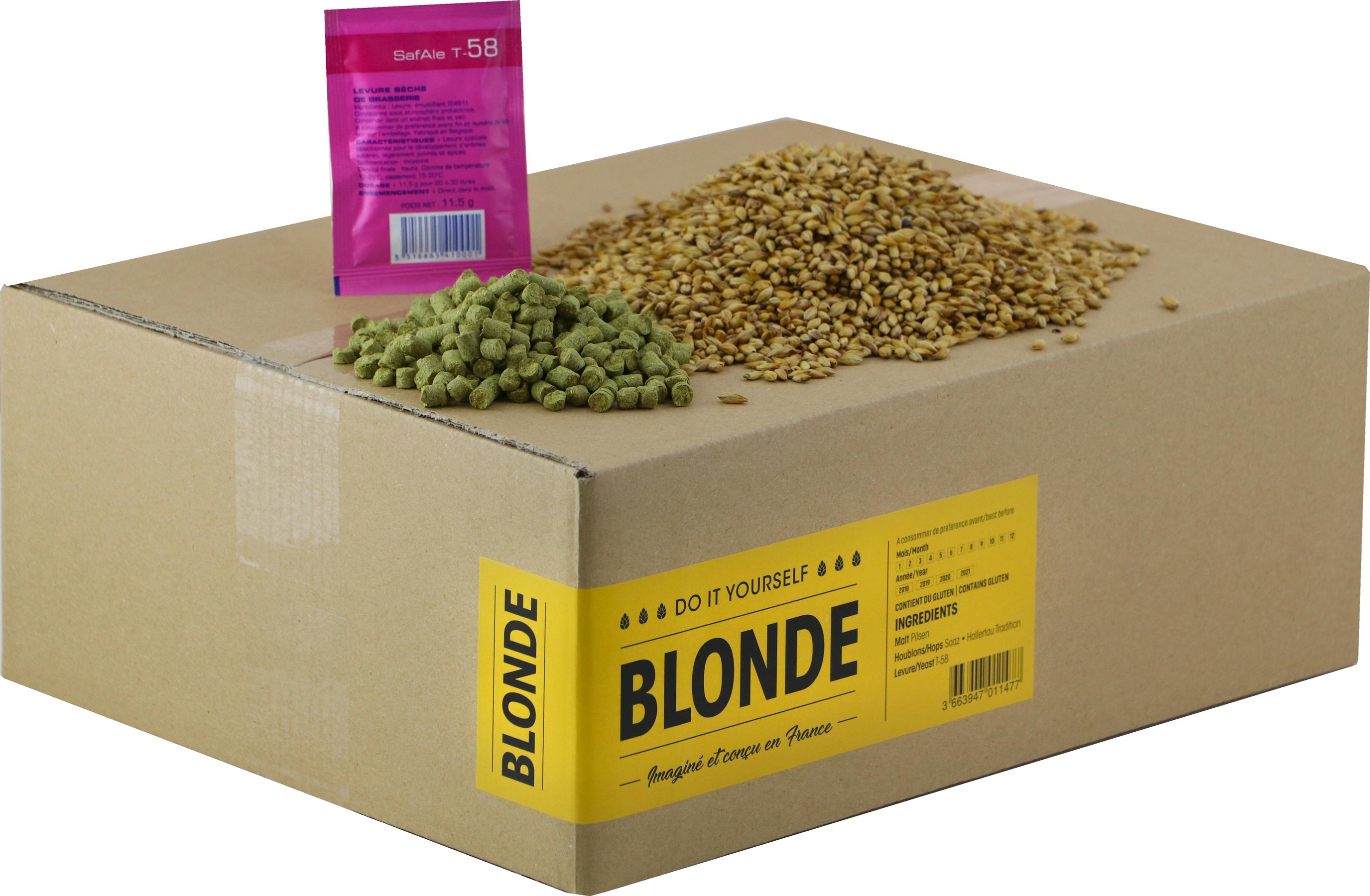 Recarga para el kit de elaboración de cerveza Belgian Blonde