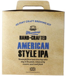 Muntons Hand-Crafted American Style IPA Beer Kit