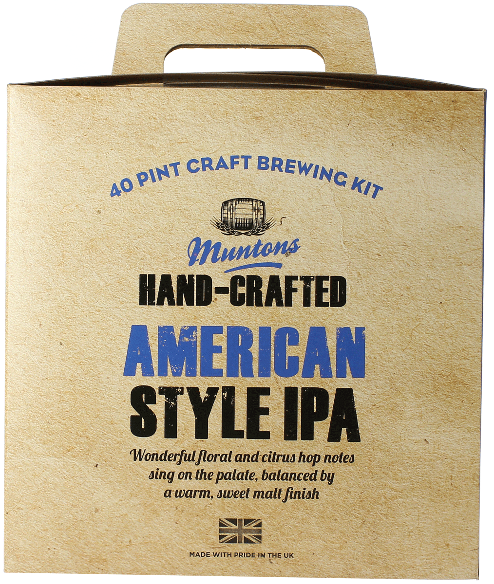 Kit à bières Muntons Hand-Crafted American Style IPA