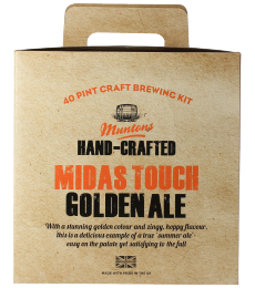 Kit à bière Muntons Hand-Crafted Midas Touch Golden Ale