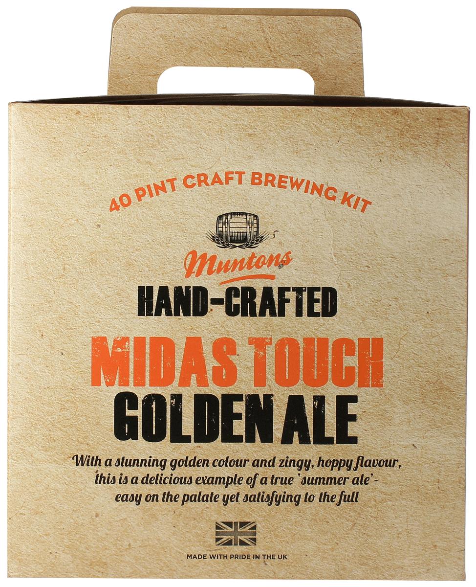 Kit à bières Muntons Hand-Crafted Midas Touch