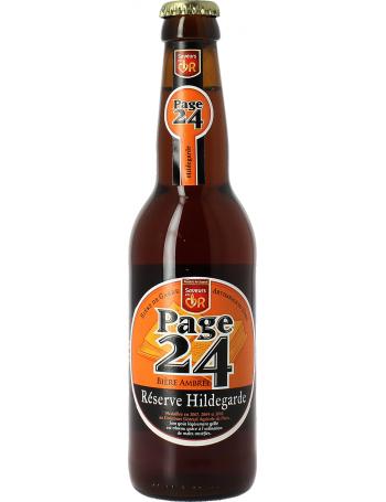 Page 24 Reserve Hildegarde Ambrée - Bière ambrée du Nord