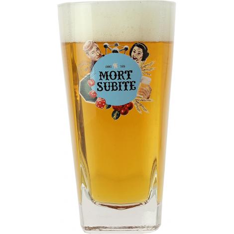 MORT SUBITE 4X33 + 1V X4 coffret verre et bière  fournisseur, grossiste,