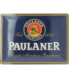 Paulaner Metal Plate