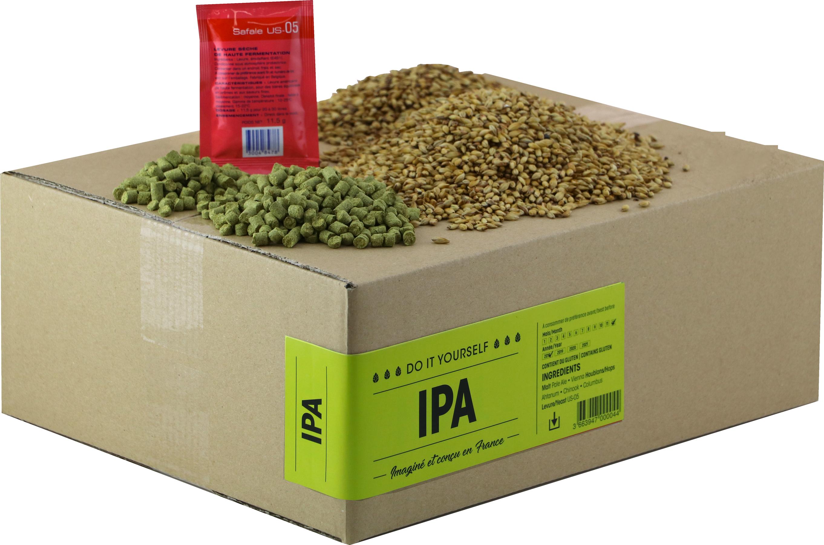 Recarga para el kit de elaboración de cerveza IPA