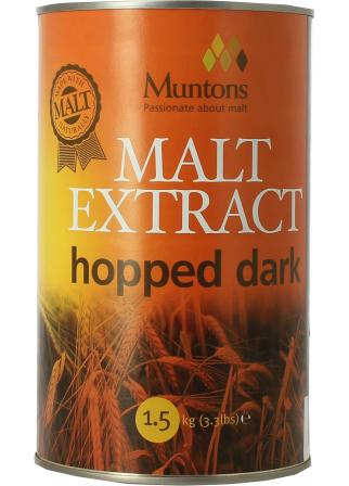 Extrait de malt Muntons liquide houblonné foncé 1,5 kg