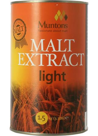 Extrait de malt Muntons liquide blond 1,5kg
