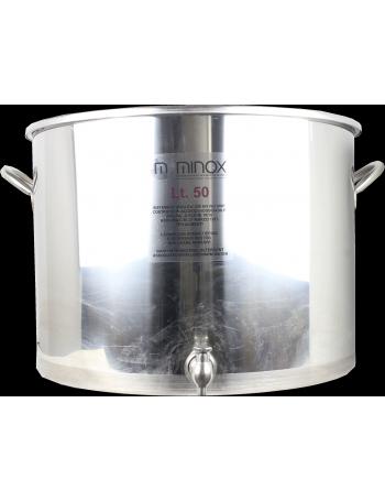 Cuve De Brassage Inox 150l Avec Robinet