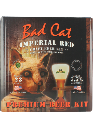 Kit à bière Bulldog Bad Cat Imperial Red