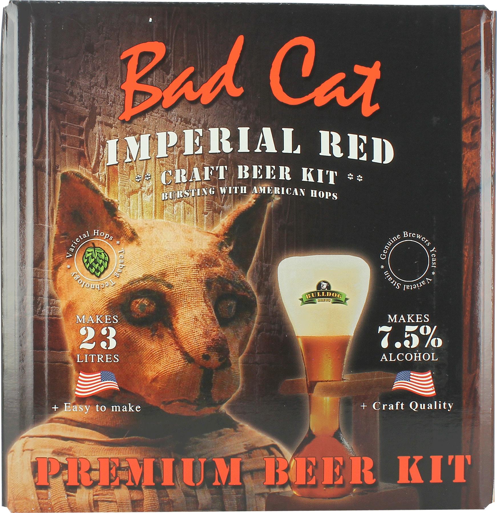 Kit à bière Bulldog Bad Cat Imperial Red