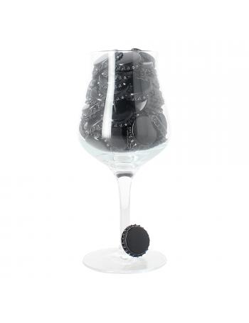 Capsules 29 mm encart profilé - noire