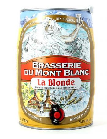 Fût 5L La Blonde du Mont Blanc