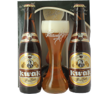 Kwak Gift Pack (2 beers + 1 glass)