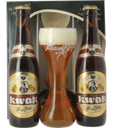 Coffret Kwak (2 bières, 1 verre)