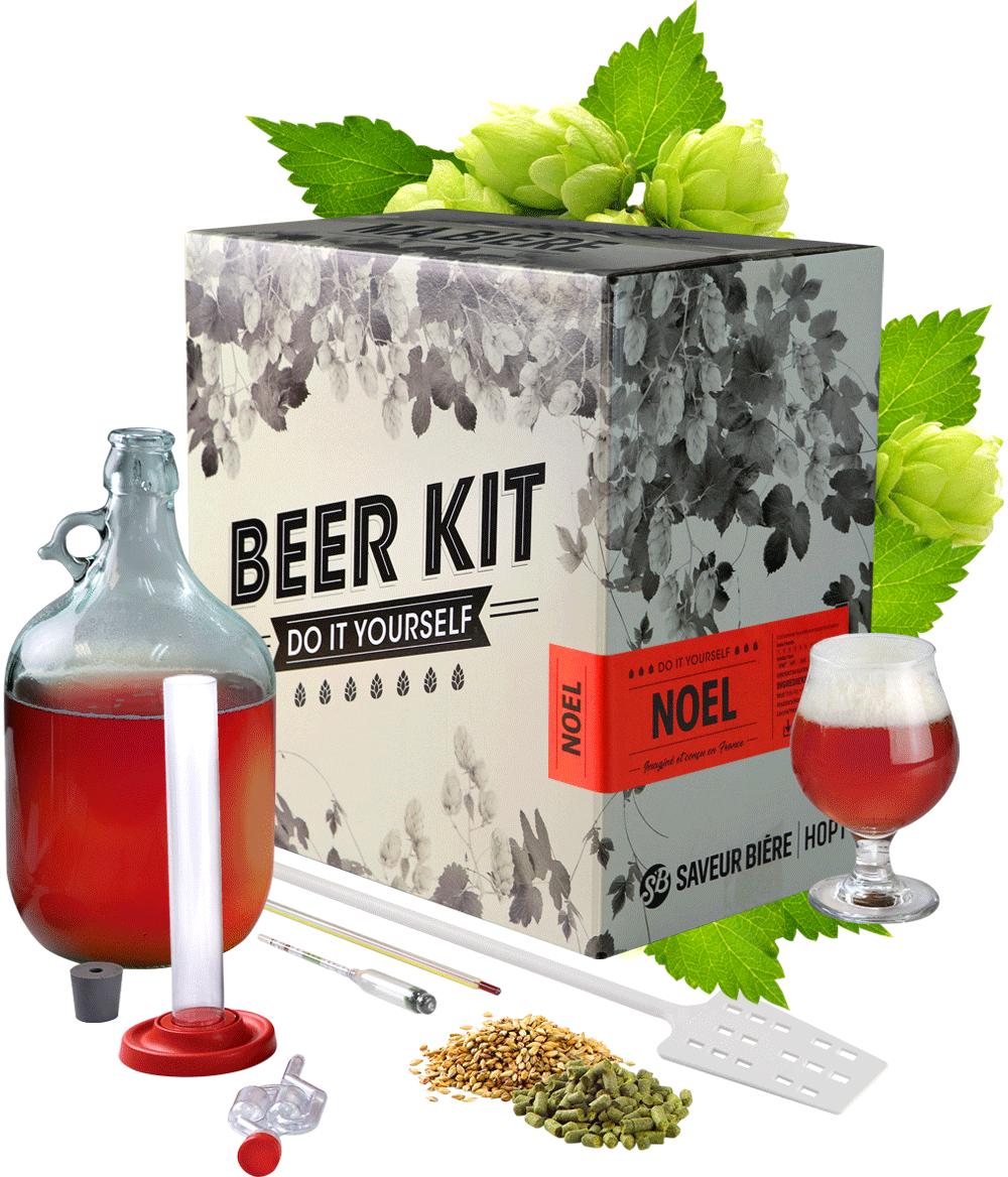 Kit de Brassage Bi/ère de NOEL 5L