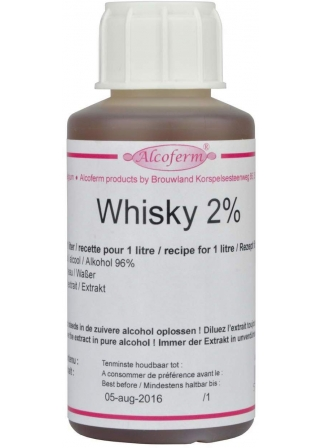 Extrait Whisky Alcoferm 2% 100mL