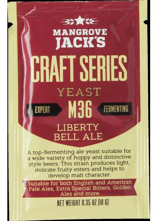Levure Mangrove Jack's Liberty Bell Ale M36 10g