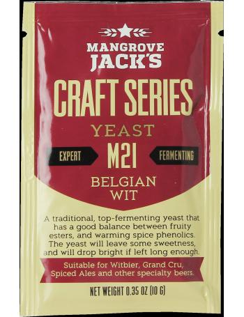 Levure Mangrove Jack's Belgian Wit M21 10g
