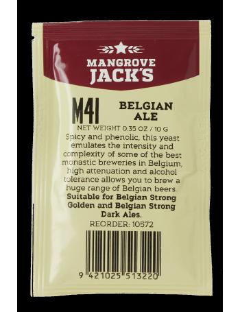 Levure Mangrove Jack's Belgian Ale M41 10g