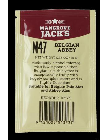 Levure Mangrove Jack's Belgian Abbey M47 10g