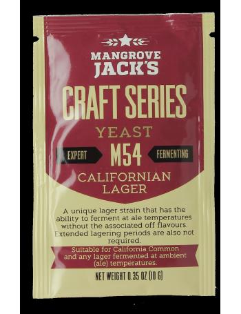 Mangrove Jack's California Lager M54 yeast 10g