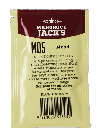 Levure Mangrove Jack's Mead M05 10g