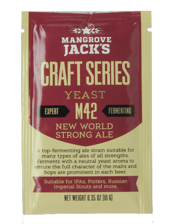 Levure Mangrove Jack's New World Strong Ale M42 10g