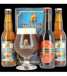 Coffret Woinic (3 bières, 1 verre)