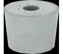 Bouchon en caoutchouc 47 à 55 mm + trou de 16 mm