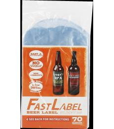 Etiquettes FastLabel pour bouteilles 33 cl